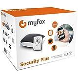 Myfox HC2 Scurit Plus Pack de Centrale alarme IP + Capteur TAG + Tlcommande avec 4 boutons + Dtecteur infrarouge + Relais radio sirne + Camra IP
