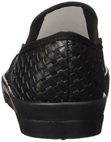 North Star 5316119, Pompes à plateforme plate femme Noir (Nero)