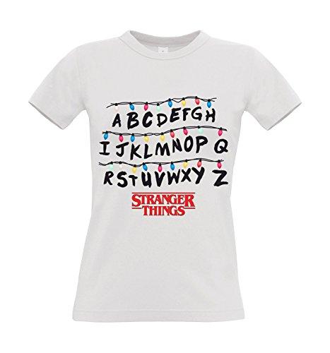 T-shirt donna stranger things, s