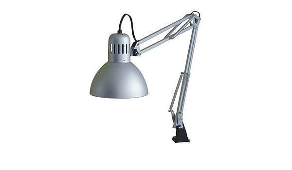 Ikea tertial lampe de travail en argenté amazon cuisine maison