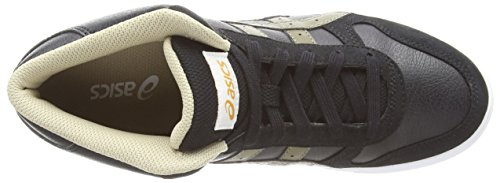 Asics Aaron Mt, Sneakers Basses Mixte adulte Noir (black/olive 9086)
