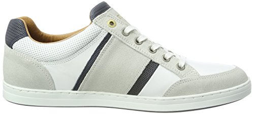 Pantofola Doro Herren Mondovi Uomo Sneaker Basso Weiß (bianco Brillante)