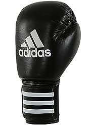 adidas Guante de boxeo PERFORMER, negro-blanco, 12 oz, ADIBC01-12