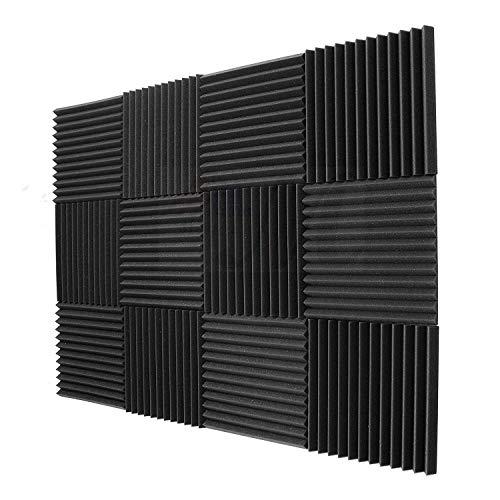 SODIAL 12 Pack- acusticos paneles espuma ingenieria