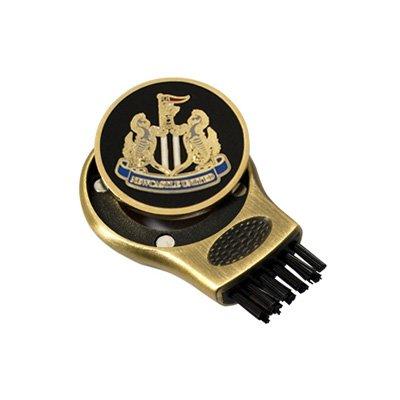 Newcastle United Fc Golf Ball Marker & Club Groove Brush Cleaner
