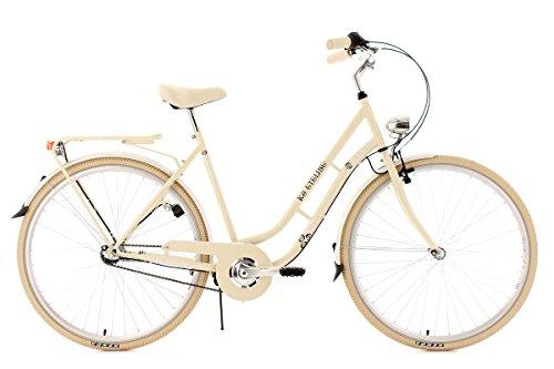 KS CYCLING CITYRAD CASINO 3 GäNGE   BICICLETA DE PASEO  COLOR BEIGE  RUEDAS 28  CUADRO 53 CM