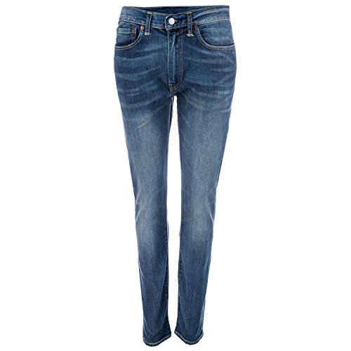 Levi's Herren 519 Extreme Schmal geschnittene Jeans Wildnis, Blau, 31W x - Wildnis Blau