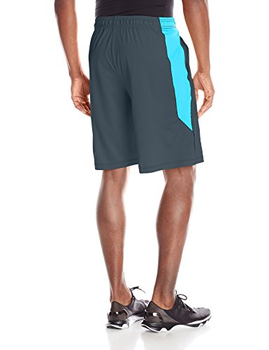 Under Armour Herren Raid 25,4 cm Shorts Stealth Gray/Blue Shift