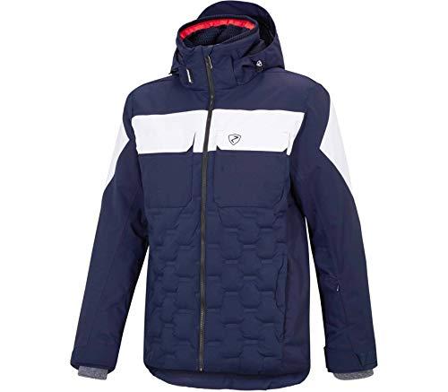 Ziener Tucannon Ski Jacket - Dark Blue/White