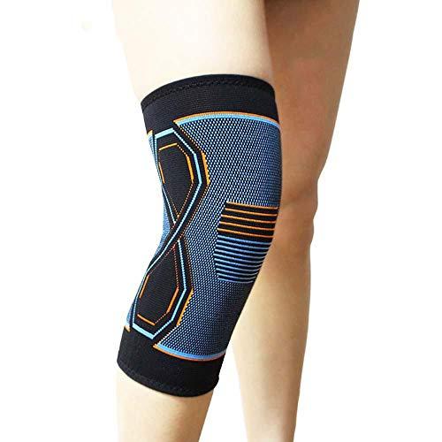JKKFNG Sportschutzausrüstung Kniekletter-Knieschützer Basketball Volleyball-Knieschoner Kniebandage,L EIN Outfit