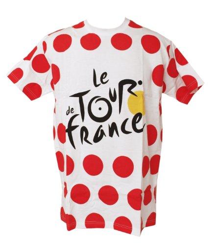 Tour de France–Camiseta para hombre, colección oficial, talla de adulto, hombre, Weiß, medium