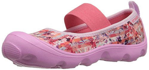 Crocs Duet Beschäftigter Tag Floral Ps Mary Jane (Kleinkind / kleines Kind) (Jungen Crocs Kleinkind)