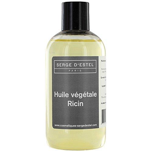 Aceite Vegetal de ricino–500ml 100% Pure y naturelle- REPOUSSE des cheveux- fortifiant pestañas y uñas