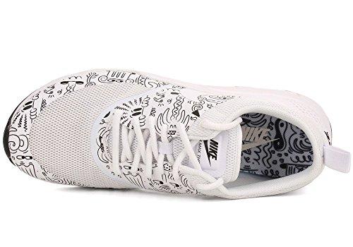 Nike - Wmns Air Max Thea Print, Scarpe sportive Donna Bianco (bianco)