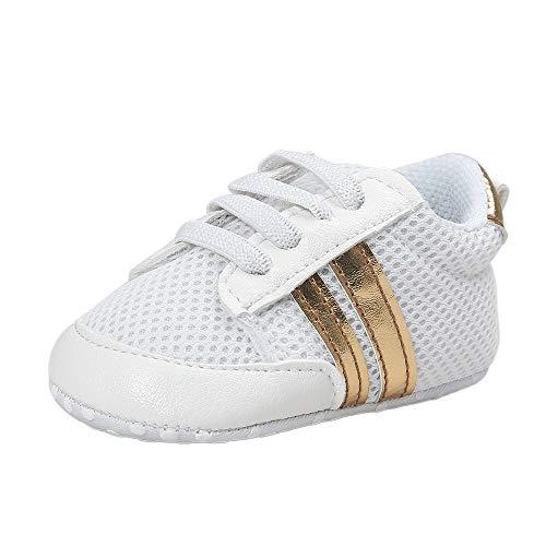 Chaussures de Gymnastique Mixte Bébé, Manadlian Baskets Garçon Filles Nouveau 2018 Comfortable Chaussure de Sport en Tissu Antidérapant Baskets Basses