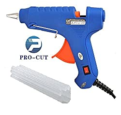 GLUE GUN 60W WITH ON OFF SWITCH & 20 GLUE STICKS