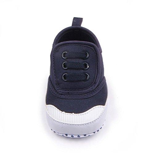 Luck Baby Basic Turnschuh weichen Boden Prewalker Krippe Schuhe Schwarz