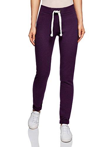 Oodji Ultra Mujer Pantalones Punto Deportivos Lazos