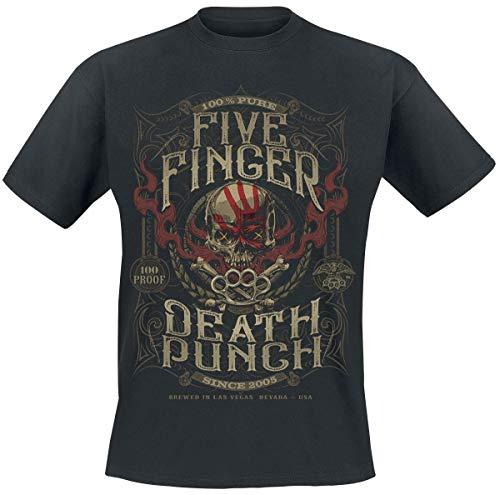 Five Finger Death Punch 100 Proof T-Shirt T-Shirt schwarz XL