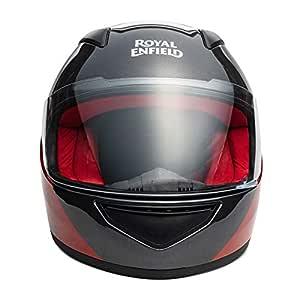 Royal Enfield Red & Red Full Face With Visor Helmet Size (M)58 CM (RRGHEK000025)