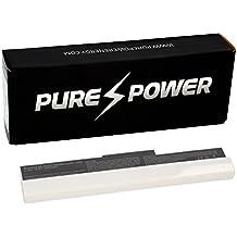 PURE⚡POWER® Batería del ordenador portátil para Asus Eee-PC 1001PX-WHI0065 (10.8V, 4400 mAh, blanco, 6 celdas)