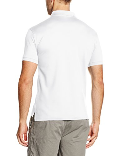 Polo Ralph Lauren Herren Poloshirt Ss Kc Slfit Mdl 1 Weiß (WHITE A1000)
