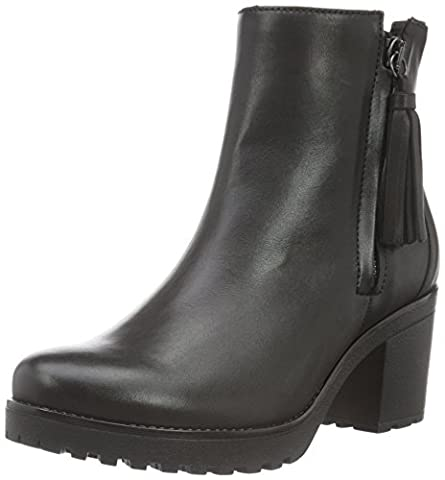 Gabor Shoes 53.761 Damen Halbschaft Stiefel, Schwarz (Schwarz 27), 37 EU (4 Damen UK)