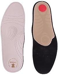 Plantillas de lana Bergal Plus - ideal para deportes -, senderismo y de deporte para hombre, color multicolor, talla 45