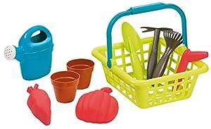 Ecoiffier- Cesta de jardín para niños a Partir de 18 Meses - Fabricado en Francia 4567