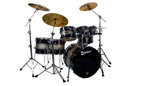 Premier Serie Elite h289952qssb 5teiliges Drum Set, Silver Sparkle Burst