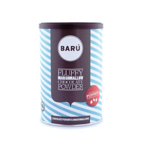 Barú Fluffy Marshmallow Chocolate Powder, 2er Pack (2 x 250 g)