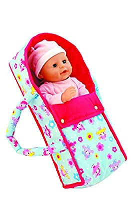 Dolls World Deluxe Baby Doll Carrier Carry Cot