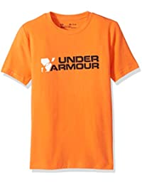 Under Armour chicos 'Duo de T de manga corta, Niños, Duo Branded T, Hipster