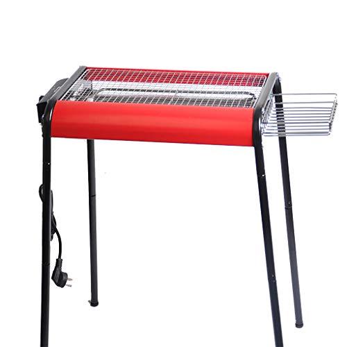 Horno eléctrico antiadherente de bajo consumo de humo, horno de soporte de...