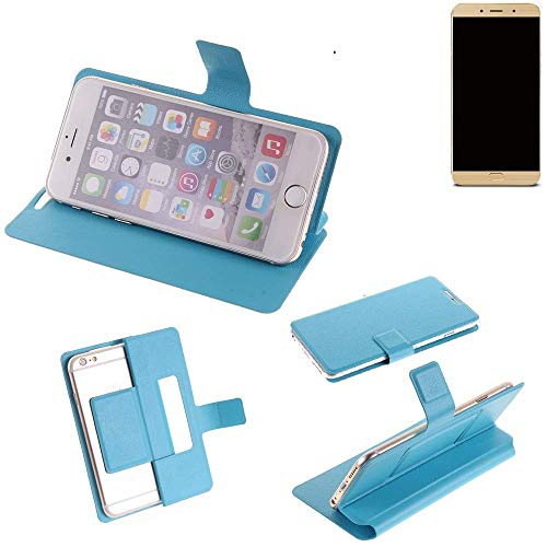 K-S-Trade Flipcover für Allview X4 Soul Lite Schutz Hülle Schutzhülle Flip Cover Handy case Smartphone Handyhülle blau