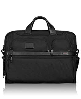 "Tumi Alpha 2, Porte-documents Compacte pour Ordinateur 17"", Noir - 026114D2 (B00KFROA90) 