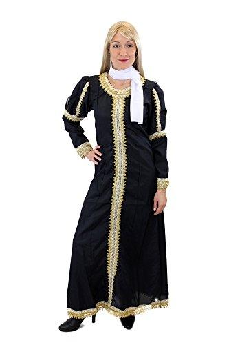 dressmeup Aufwändiges Kostüm Kleid Damenkostüm Mittelalter Edelfrau Burgfrau Königin Cosplay Gr. 44, L