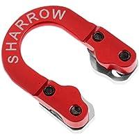 perfk D Loop Anillo de Hebilla de Cuerda de Alumino para Archero Compuesto - rojo