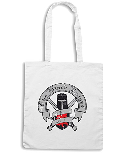T-Shirtshock - Borsa Shopping TF0010 inspired by Monty Python and the Holy Grail Bianco