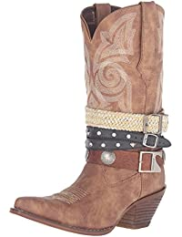 e86798c1 Amazon.co.uk: Cowboy Boots - Boots / Women's Shoes: Shoes & Bags