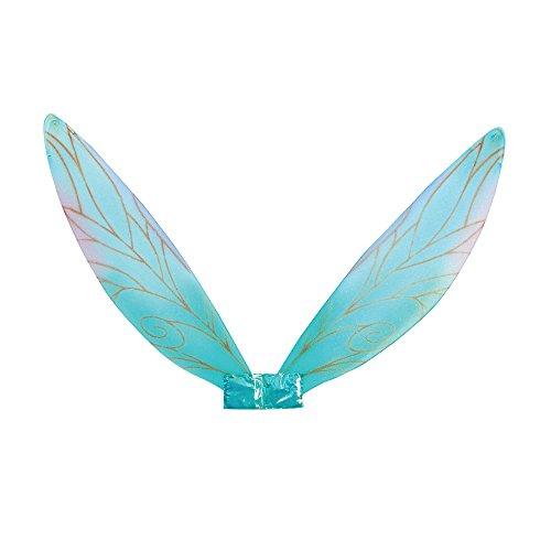 Elfe Kostüm Mystische - Bristol Novelty BA352 Feenflügel, Damen, blau, Einheitsgröße