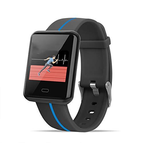 AXELEL Sport Wristbands kompatibel mit Soft Lightweight Sport Loop Replacement Strap mit Herzfrequenz-Monitor, Wasserdichte Smart Fitness Band mit Step Counter