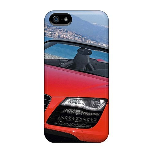 Hard Plastic Iphone 5/5s Case Back Cover,hot Audi R8 Spyder 5.2 Fsi Quattro 2011 Case At Perfect Diy