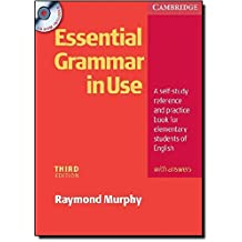 Essential Grammar in Use with Answers and CD-ROM Pack by Raymond Murphy (2007-01-25)