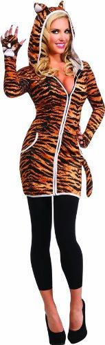 Imagen de rubie's  disfraz hoodie tigresa adultos 880758