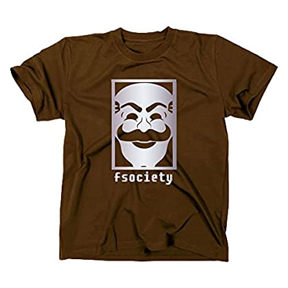 Fsociety T Shirt, Evil Corp Corporation, Hacker, anonymous, S, braun