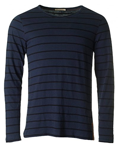 nudie-jeans-orvar-long-sleeved-striped-t-shirt-large-navy