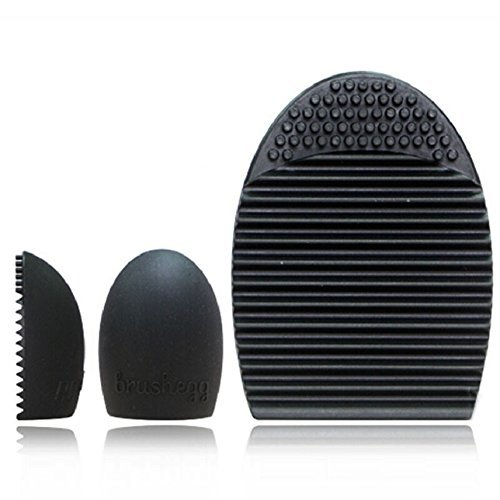 amison-cleaning-glove-makeup-washing-brush-scrubber-board-cosmetic-clean-tool-black