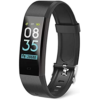 Muvit I/O Health Tensio Lite - Pulsera de Actividad y sueño, Color Negro