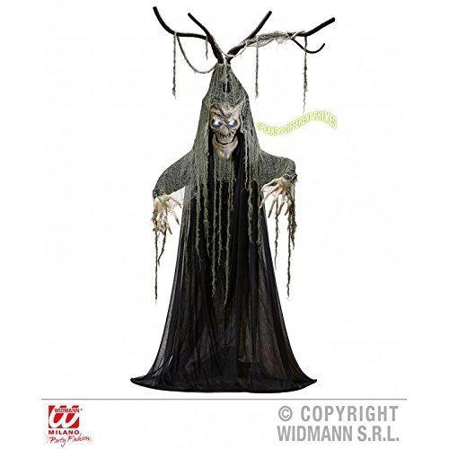 Halloweendekoration sprechender Baum / Gruseldeko / Halloween / Dekoration / Hexenwald / Gruselwald ca. 200 cm (Halloween Baum Dekoration)